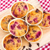 Breakfast Cherry Muffins