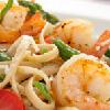 Linguine & Asparagus with Shrimp