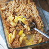 Plantain Apple Crisp