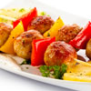 Beef & Pineapple Kebabs