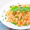 Colourful Pepper Risotto