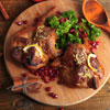 Pomegranate Walnut Chicken