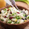 Italian Risi e Bisi (rice and peas)