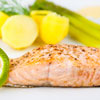 Salmon with Dilly Sauce