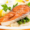 Italian Salmon Steaks