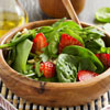 Strawberry & Spinach Salad