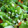 Mixed Green Winter Salad