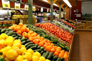 large variety of fresh vegetable