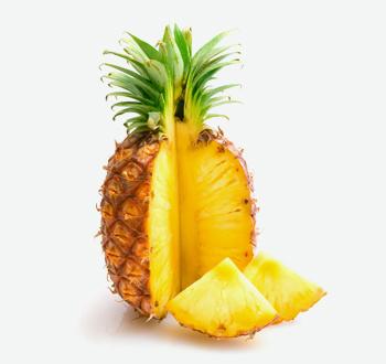 Large Golden Pineapples