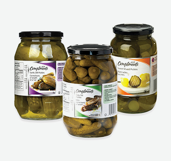 Compliments Assorted Pickles
