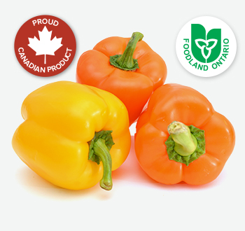 Yellow or Orange Peppers